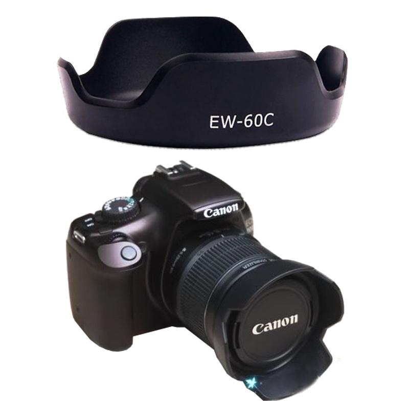 Canon Lens Hood EW-60C II ทรงกลีบดอกไม้ for EF-S 18-55mm II USM, 18-55mm IS