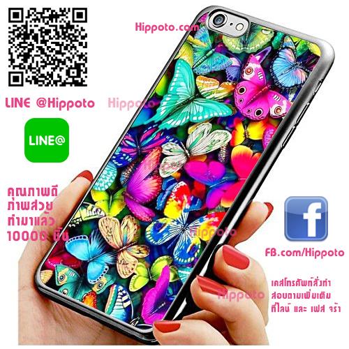 เคส ไอโฟน 6 / เคส ไอโฟน 6s ผีเสื้อสวยหลากสี เคสสวย เคสโทรศัพท์ #1142