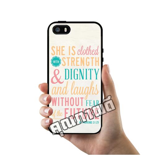 เคส iPhone 5 5s SE โลโก้ บทไบเบิ้ล เคสสวย เคสโทรศัพท์ #1130