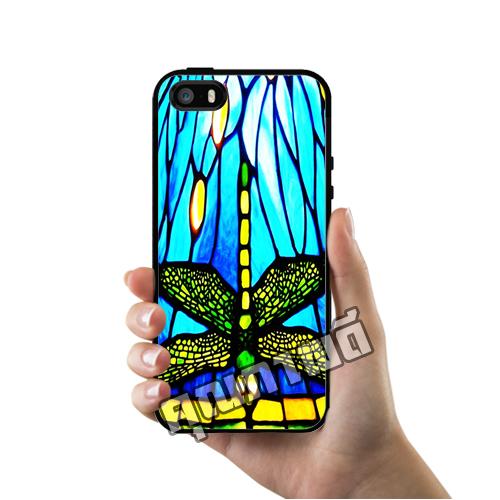เคส iPhone 5 5s SE แมลงปอ เคสสวย เคสโทรศัพท์ #1168