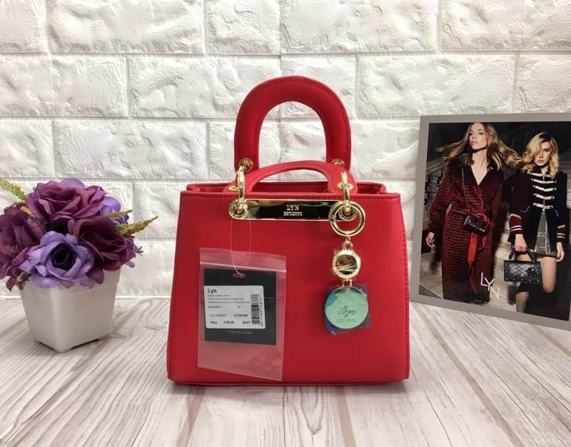 LYN TIARA XS BAG *สีแดง