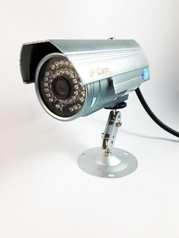 กล้อง IP Outdoor (ควบคุม+ดูได้จากทุกที่ในโลก)