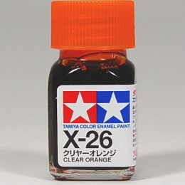 (เหลือ 1 ชิ้น รอเมล์ฉบับที่2 ยืนยัน ก่อนโอน) 80026 Enamel X26 clear orange