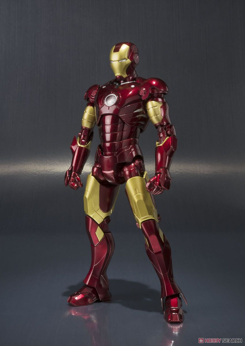 06452 S.H.Figuarts Iron Man Mark 3 (Completed)