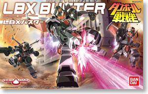 (เหลือ 1 ชิ้น รอเมล์ฉบับที่2 ยืนยัน ก่อนโอน) LBX 40 Buster (Plastic model) 1000yen