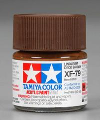 81779 acrylic mini (flat) xf-79 linoleum deck brown