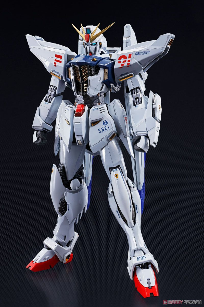 Metal Build Gundam F91 (Completed)