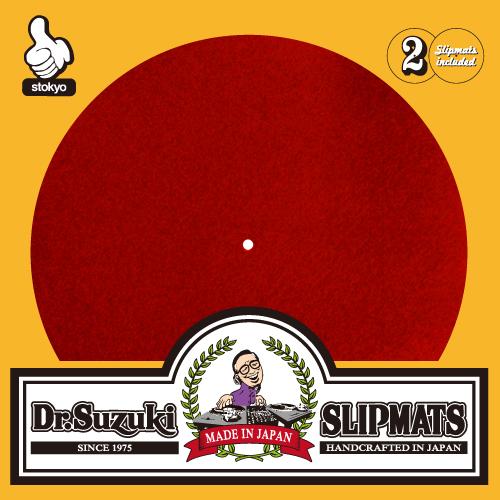 """Dr. Suzuki """"Mix Edition"""" Slipmats (Red)"""