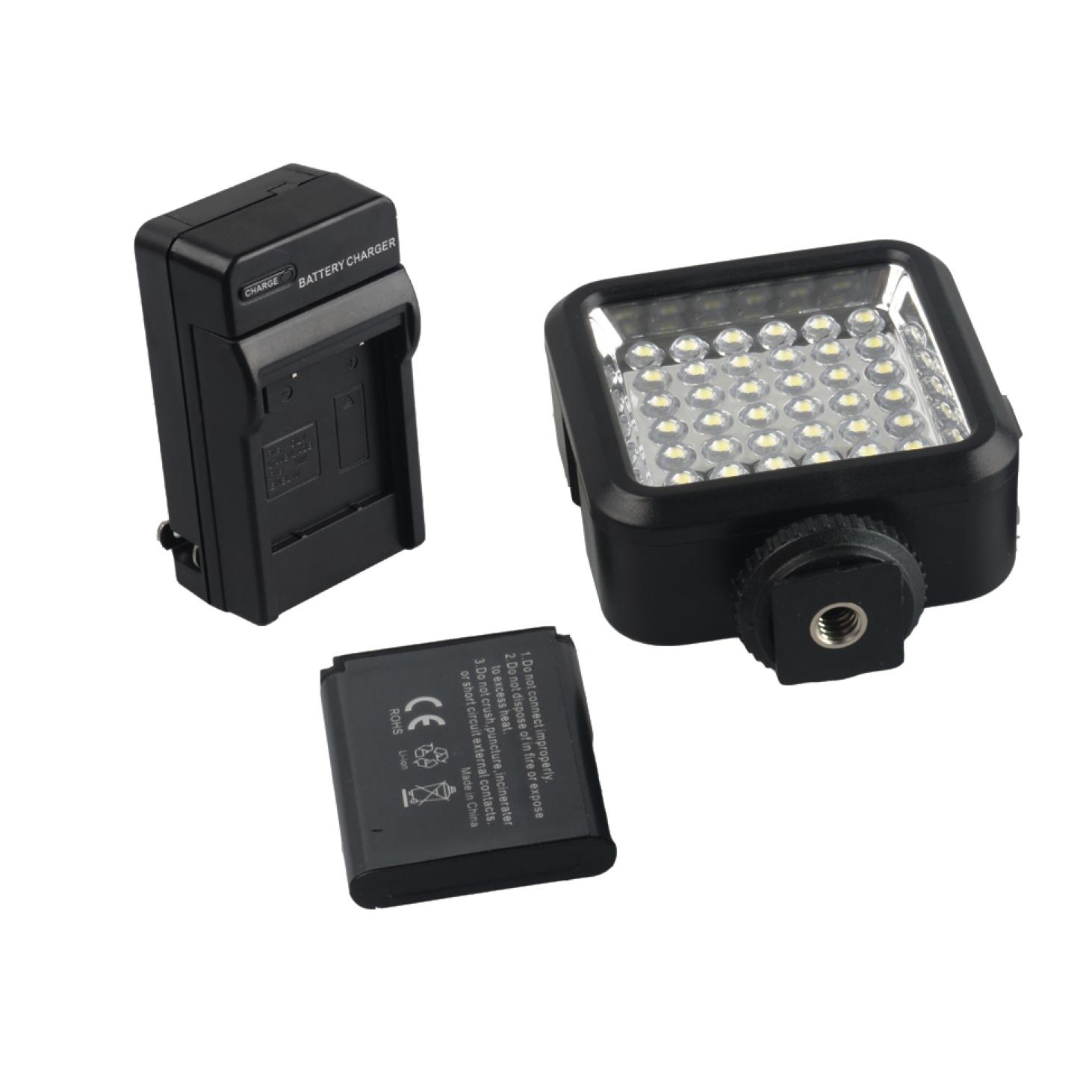 36 LED Video Light White Bright Lamp