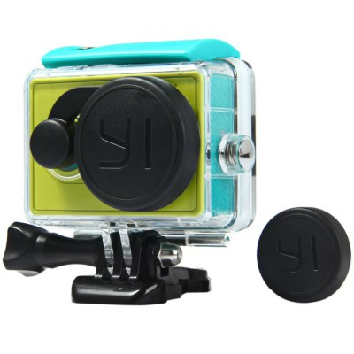 XIAOMI Yi ฝาปิดเคสกันน้ำ Round Dual Lens Cap