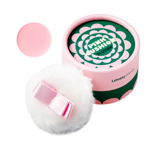 {พร้อมส่ง} The Face Shop Lovely ME:EX Pastel Cushion Blusher สีเบอร์ 4