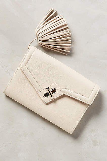 กระเป๋าสตางค์สีขาว