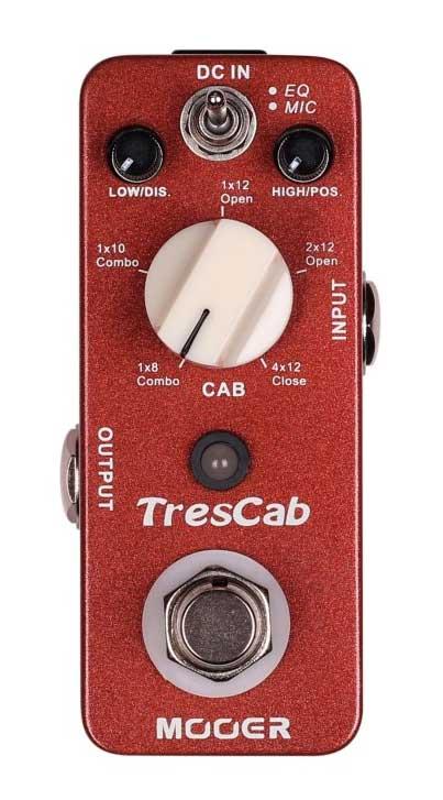 Mooer TresCab - Cab Simulated Pedal