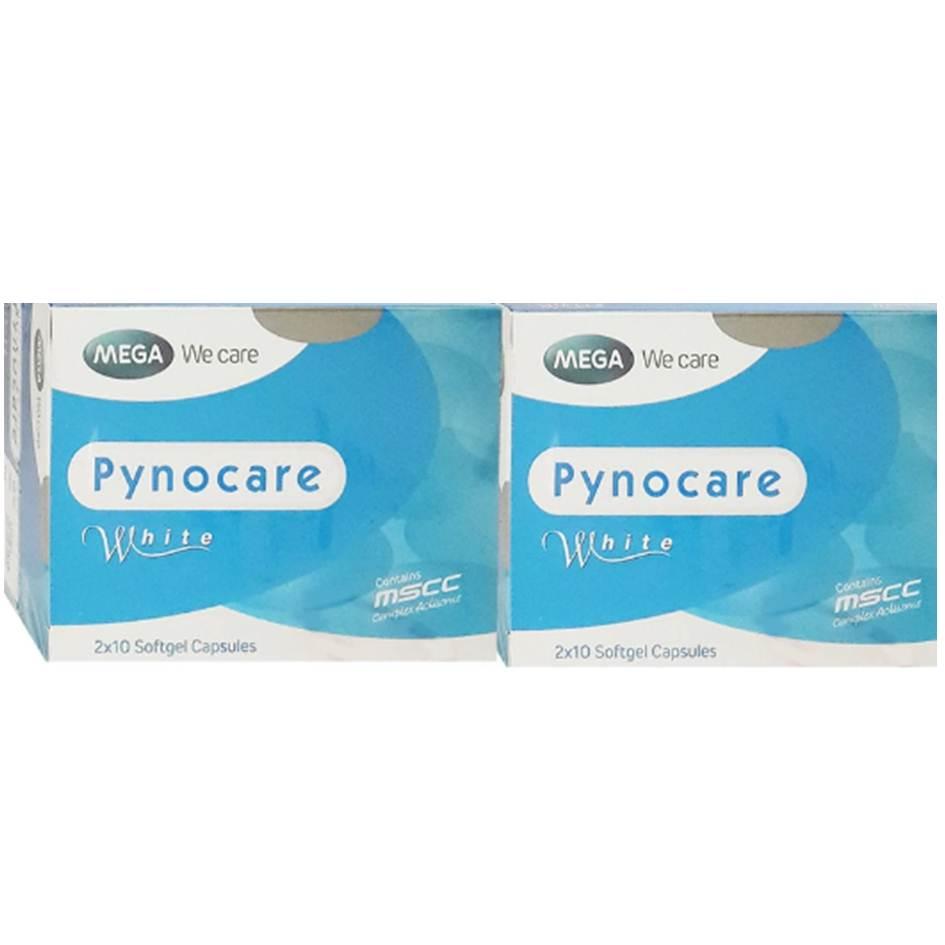 Mega We Care Pynocare White 20 เม็ด(2 กล่อง) สารสกัดจากเปลือกสน