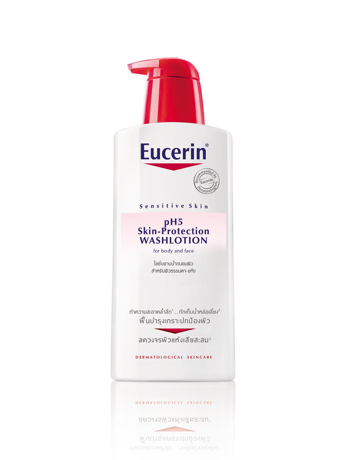 EUCERIN โลชั่นอาบน้ำ pH5 สกิน โพรเทคชั่น 400 มล.