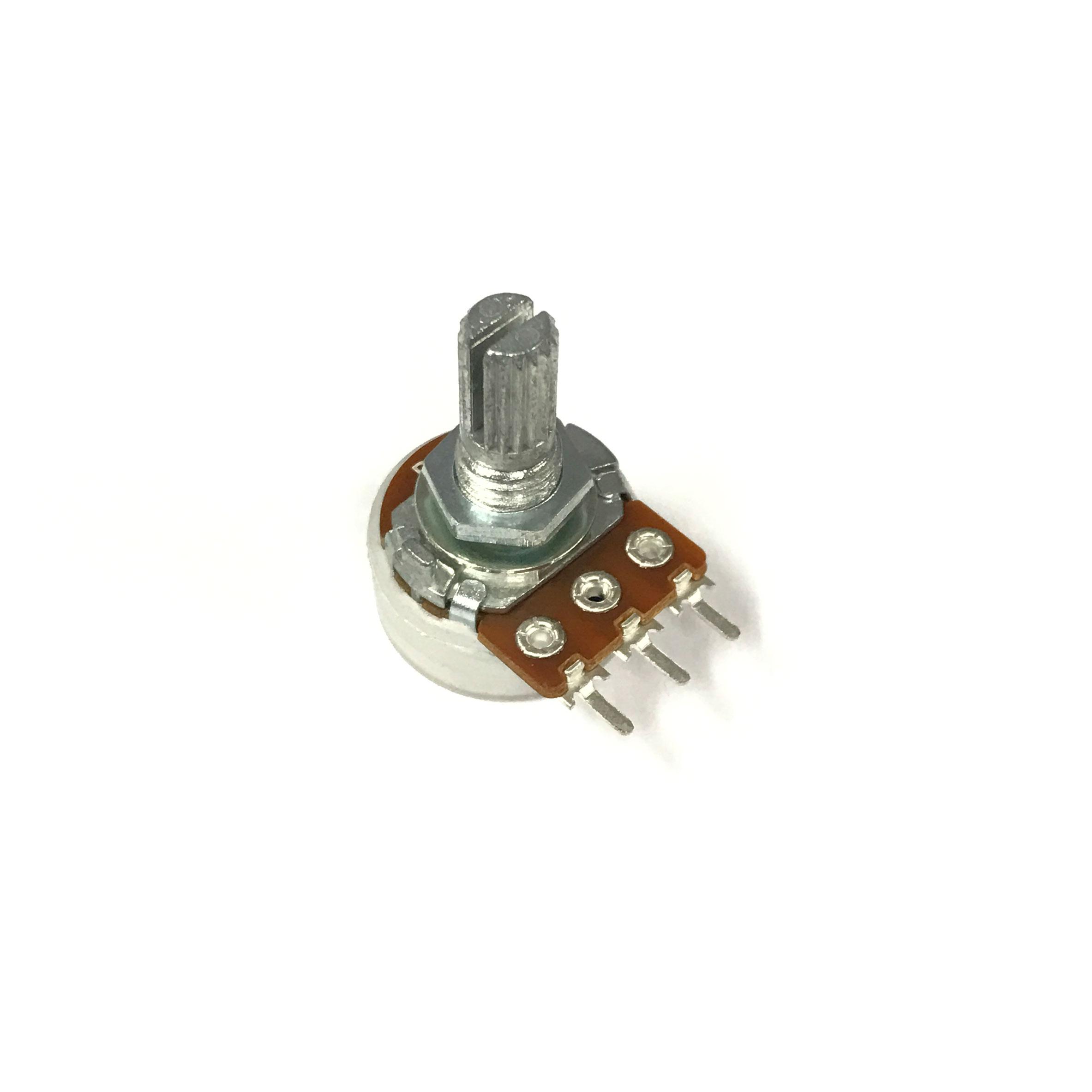 ตัวต้านทานแบบปรับค่าได้ Potentiometer Variable Resistor (VR), R ปรับค่าได้ ขนาด 10K Ohm