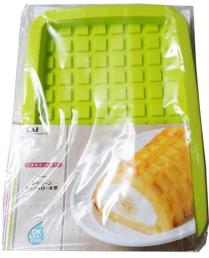 แม่พิมพ์ซิลิโคน วาฟเฟิ้ล แยมโรล เค้กโรล BAKE115