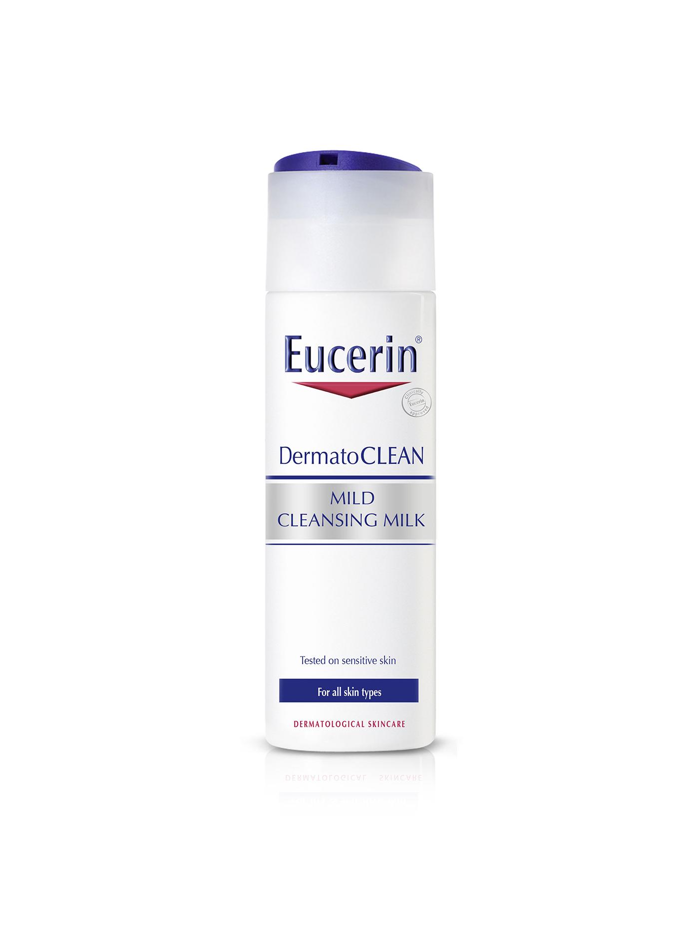EUCERIN ผลิตภัณฑ์ขจัดคราบเครื่องสำอาง คลีนซิ่ง มิลค์ เดอร์มาโทคลีน มายด์ ขนาด 200 มล.