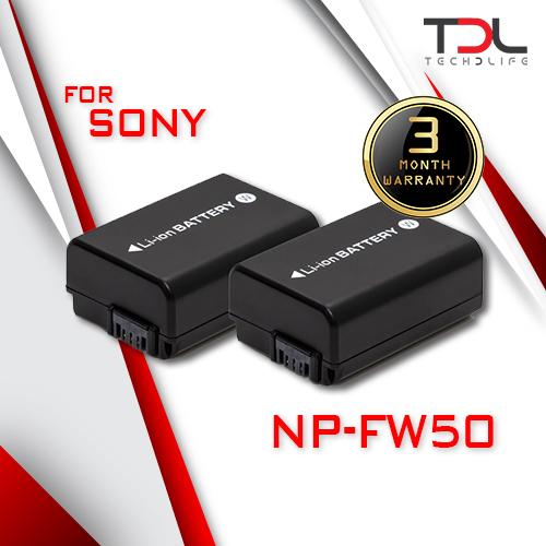Pro S6 แบตเทียบ Sony NP-FW50 ตระกูล A7 ตระกูล NEX A5100 A6000 A6300 A6500