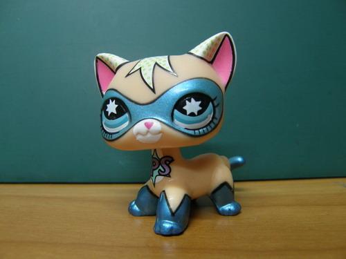 LPS-0555 Comic Mask Super Hero cat