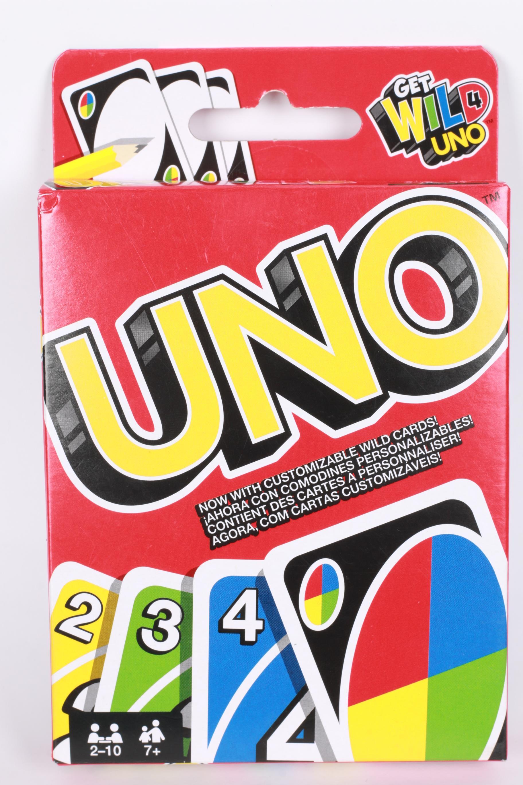 ไพ่อูโน่ UNO card เกมส์ไพ่อูโน่ เกมส์ไพ่ต่อสีและตัวเลข