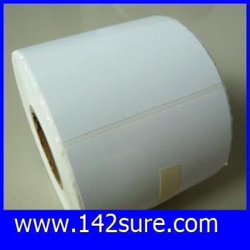 STB005 สติกเกอร์ บาร์โค้ด Label Paper 70mmX40mmX1000pcs (จำนวน1000ดวง) ยี่ห้อ OEM รุ่น 70mmX40mmX1000pcs