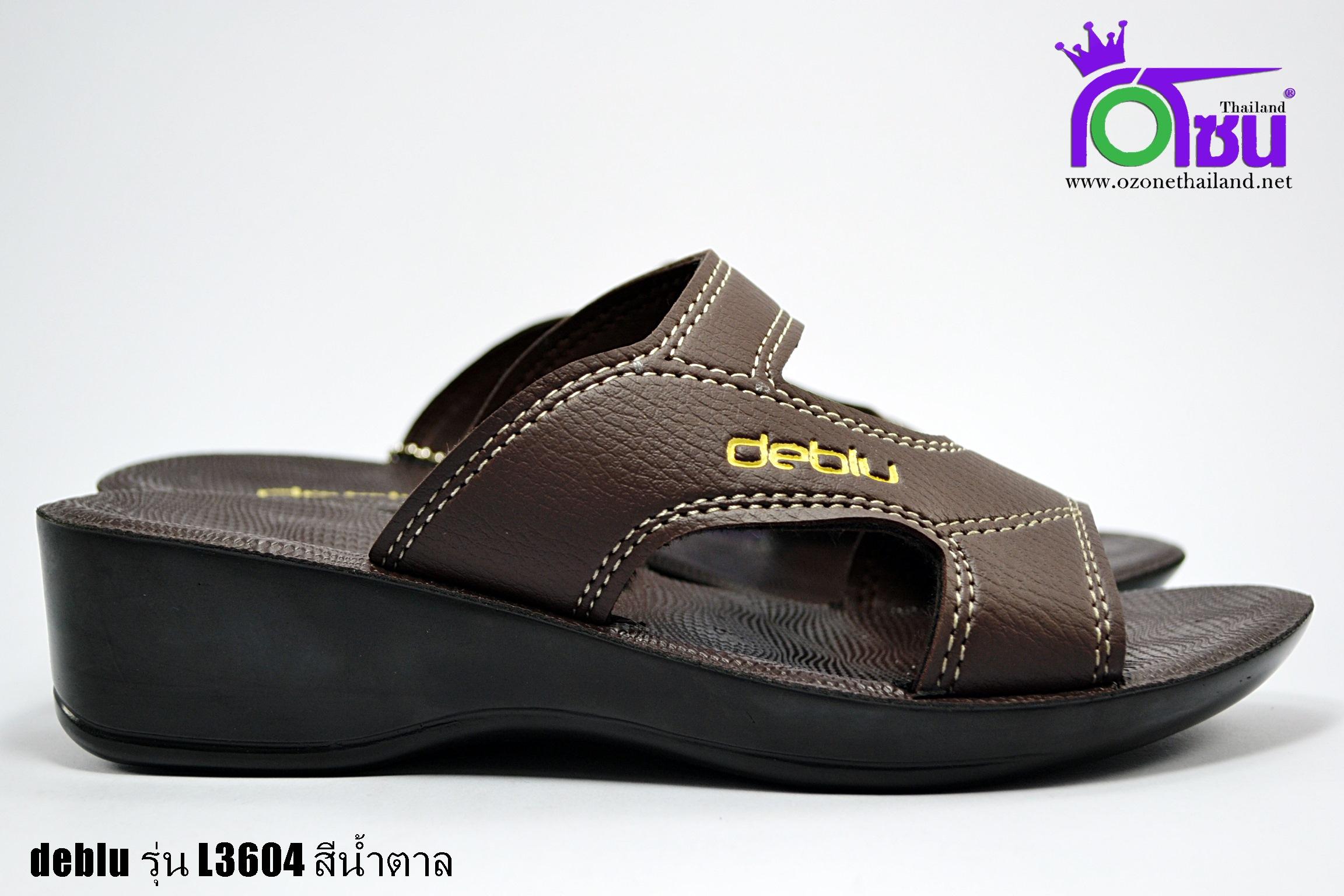 รองเท้าเดอบลู deblu รุ่น L3604 สีน้ำตาล เบอร์36-41