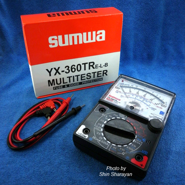 Multitester(แบบเข็ม) ยี่ห้อ Sumwa YX-360TR E-L-B