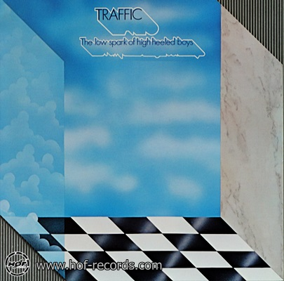 Traffic - The Low Spark Of High Heeled Boys 1971 1lp