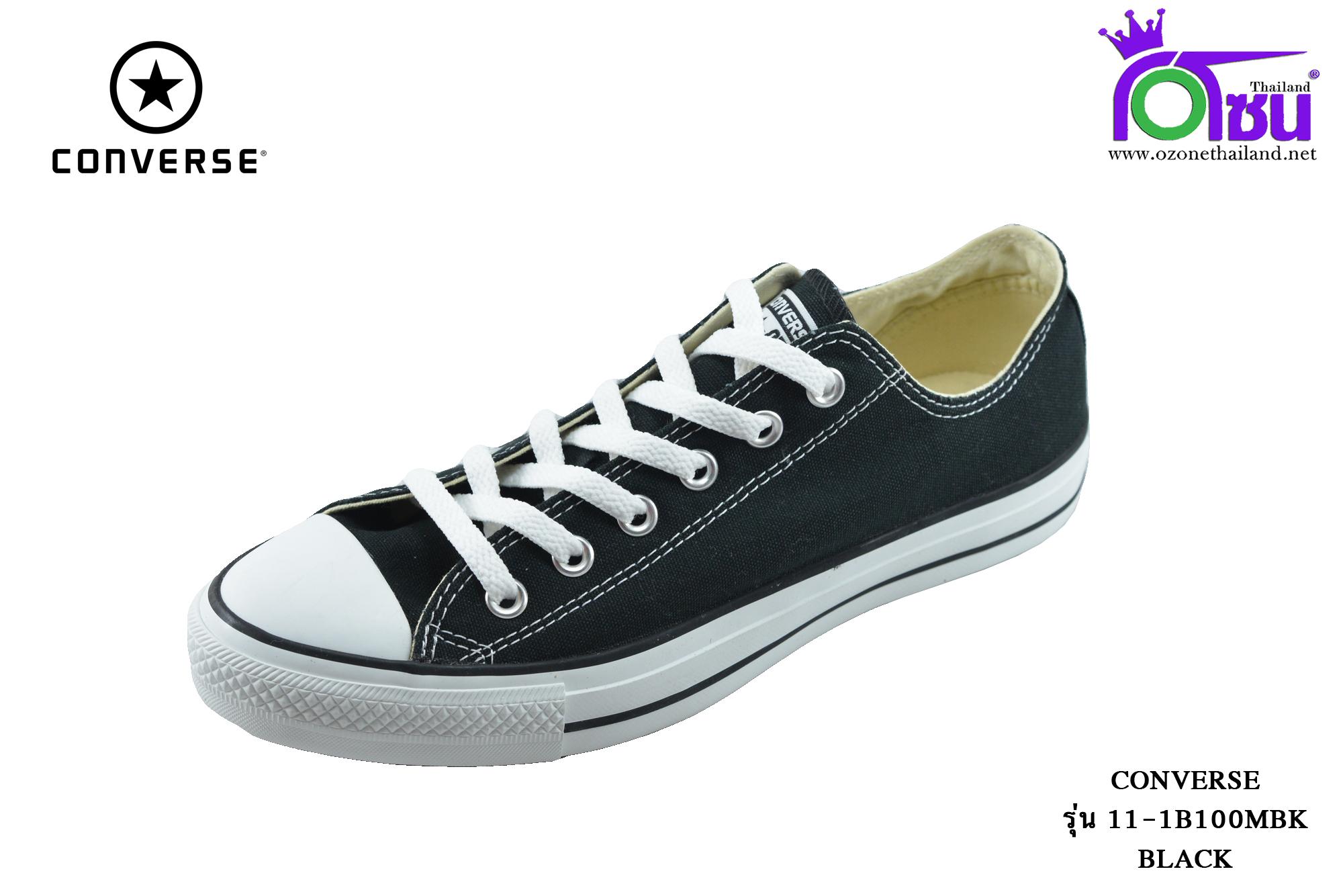 ผ้าใบ Converse All Star Dainty OX Sneakers (รุ่นคลาสสิค) สีดำ