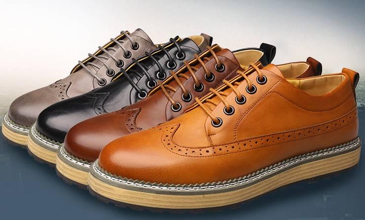 พรีออเดอร์ราคาพิเศษ!! รองเท้าคัทชู หนังเงาหุ้มส้น หน้าออกฟอร์ด ทูโทน สีเทา ดำ แทนเหลือง น้ำตาล เบอร์ 38-44