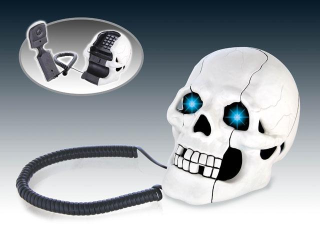 โทรศัพท์หัวกระโหลก (ซื้อ 3 ชิ้น ราคาส่ง 350 บาท/ชิ้น)