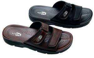 รองเท้าหนัง Adda 7C02 สีน้ำตาล-สีดำ 39-43