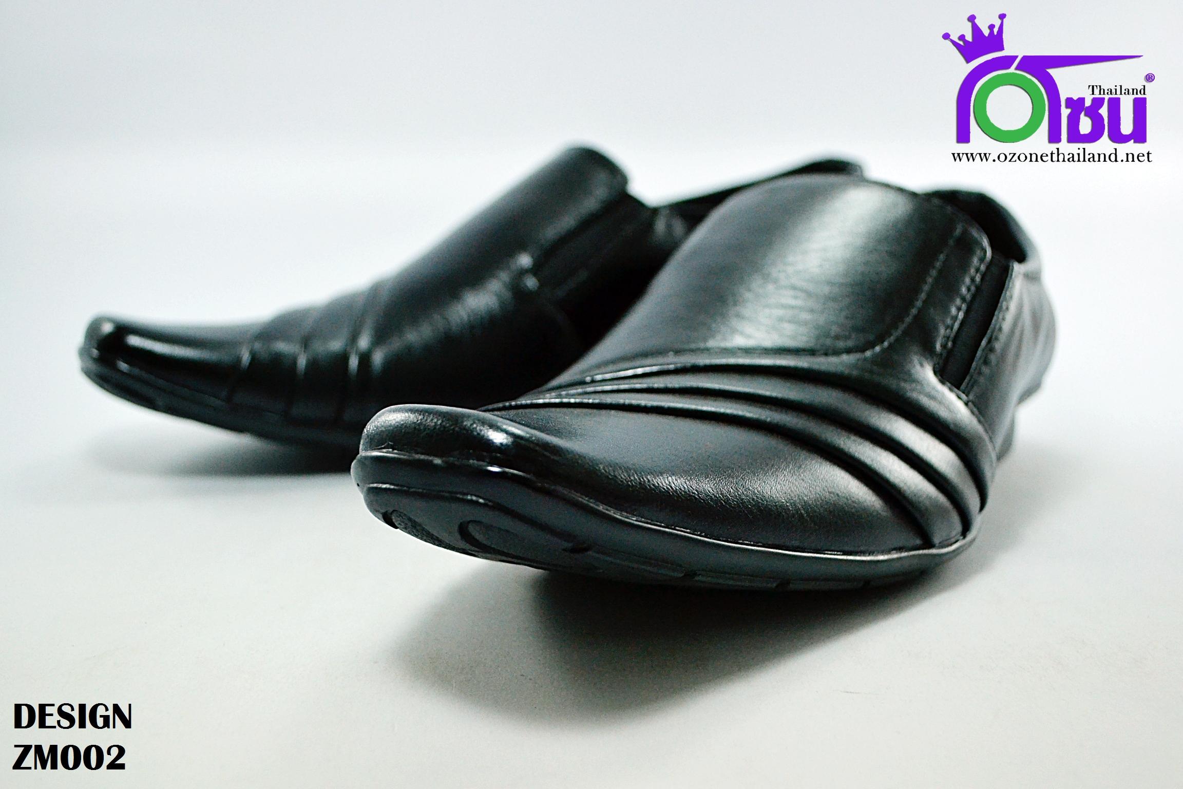 รองเท้าคัทชูดำ design ดีไซน์ รุ่น BZ002 เบอร์ 40-44