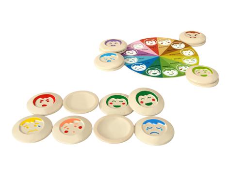 ของเล่นไม้ ของเล่นเด็ก ของเล่นเสริมพัฒนาการ My Mood Memo เกมส์จับคู่ใบหน้า (ส่งฟรี)