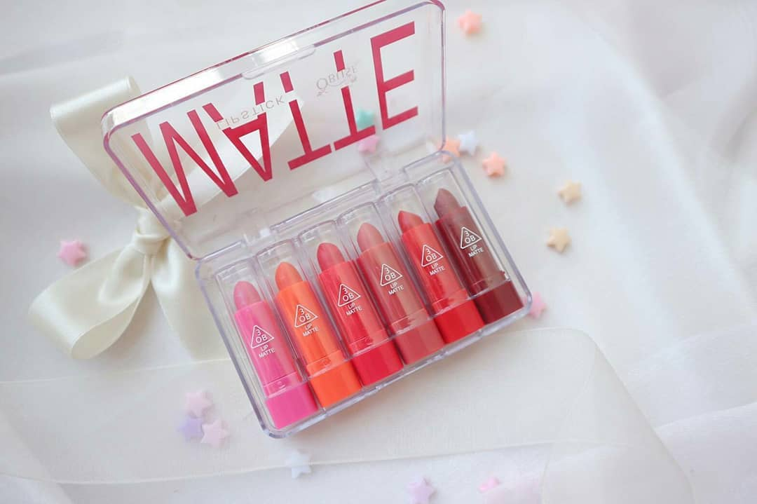 Obuse Matte Lipstick เซ็ตลิปสติกจิ๋ว 6 สีใน 1 เซ็ต ราคาปลีก 100 บาท / ราคส่ง 80 บาท