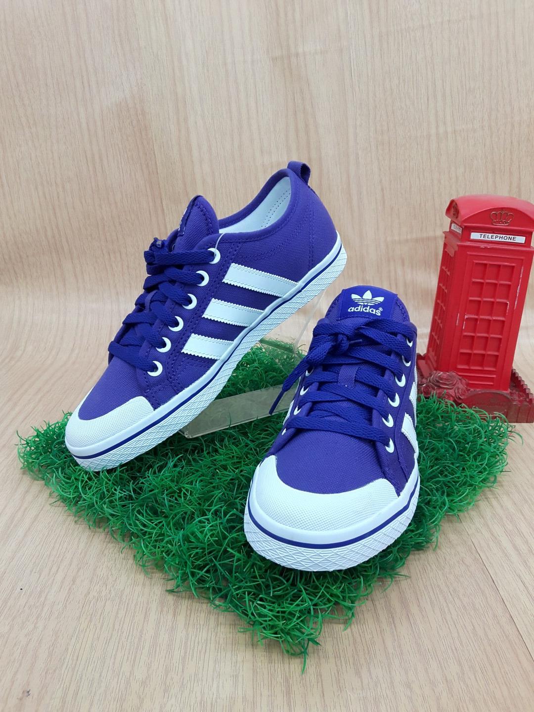 รองเท้าผ้าใบผู้หญิง adidasm.20788 สีม่วง