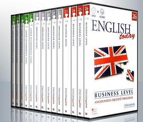 English Today Multimedia Courses (26DVD)