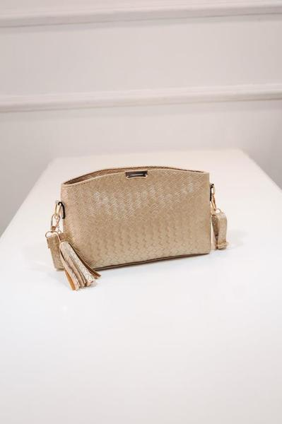 Woven Cross Bag