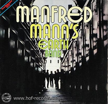 Manfred Mann's Earth Band - Manfred Mann's Earth Band 1972 1lp