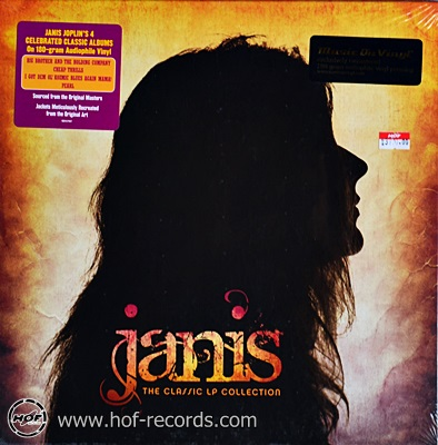 Janis Joplin - The Classic LP Collection (BOX 4 LP) 2011 NEW