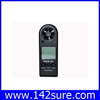 DWS016 : เครื่องวัดความเร็วลม เครื่องวัดลม มิเตอร์วัดความเร็วลม มิเตอร์วัดความเร็วลม VICTOR 816 VICTOR