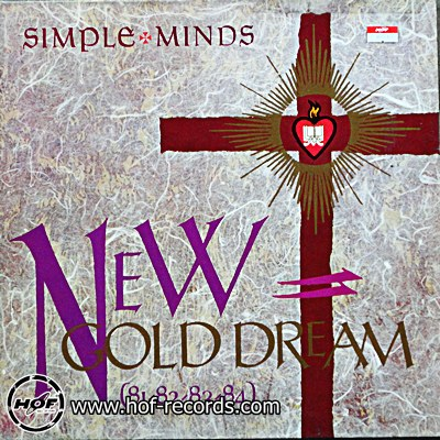 Simple minds - New cold dream 1 LP