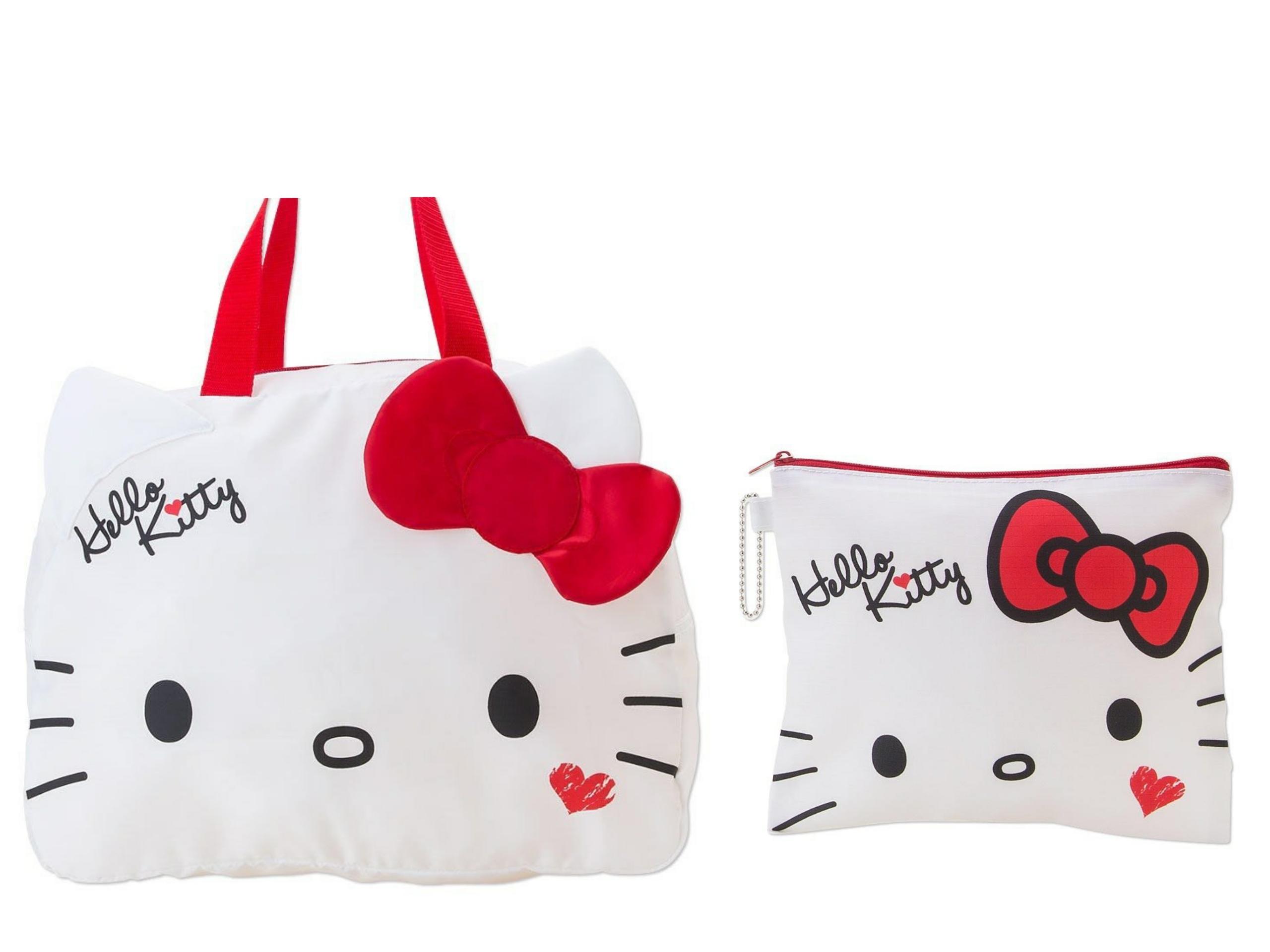 พร้อมส่งค่ะ :: กระเป๋าถือเดินทาง ขนาด 38*28 CM Hello kitty