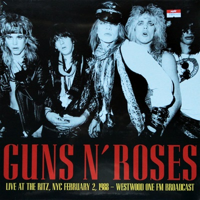 Guns N' Roses - Live At The Ritz' NYC February 2. 1988 1Lp N.
