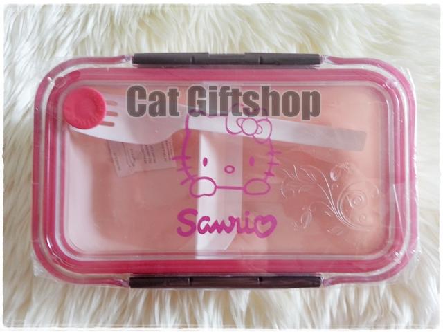 พร้อมส่ง :: กล่องข้าว Hello Kitty ขนาดกลาง