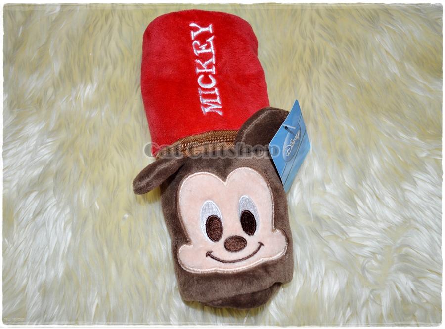 พร้อมส่ง :: กระเป๋าใส่ดินสอ Mickey mouse