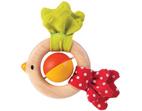 ของเล่นไม้ ของเล่นเด็ก ของเล่นเสริมพัฒนาการ Bird Rattle (ส่งฟรี)