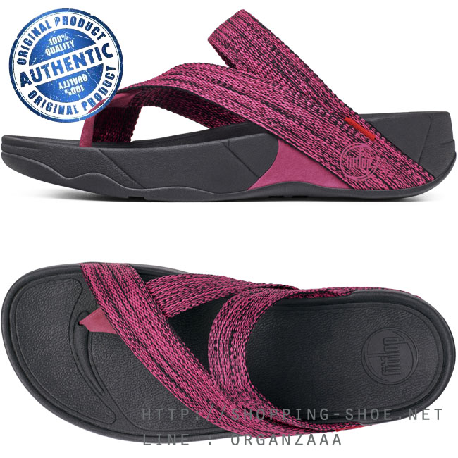 fitflop sling webbing rio pink