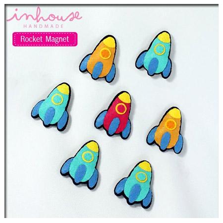Magnet แม่เหล็ก Rocket ของเล่นเสริมพัฒนาการ เสริมสร้างจินตนาการ